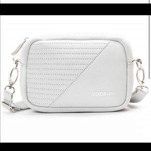 Vooray NWT Grey Moto Crossbody Bag